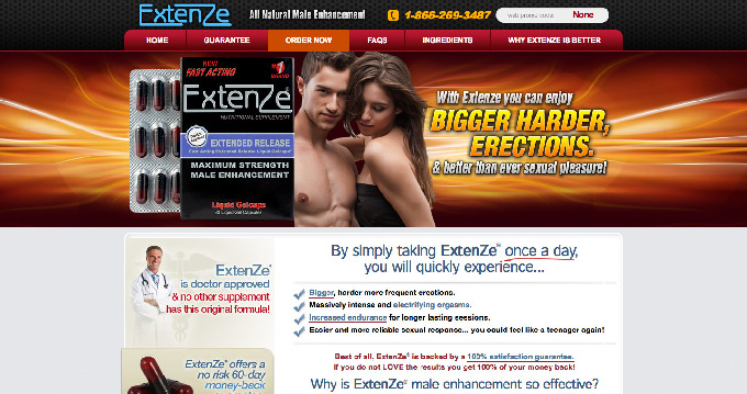 Extenze Tablets Directions